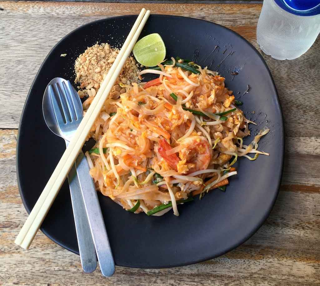 pad thai the best thai food
