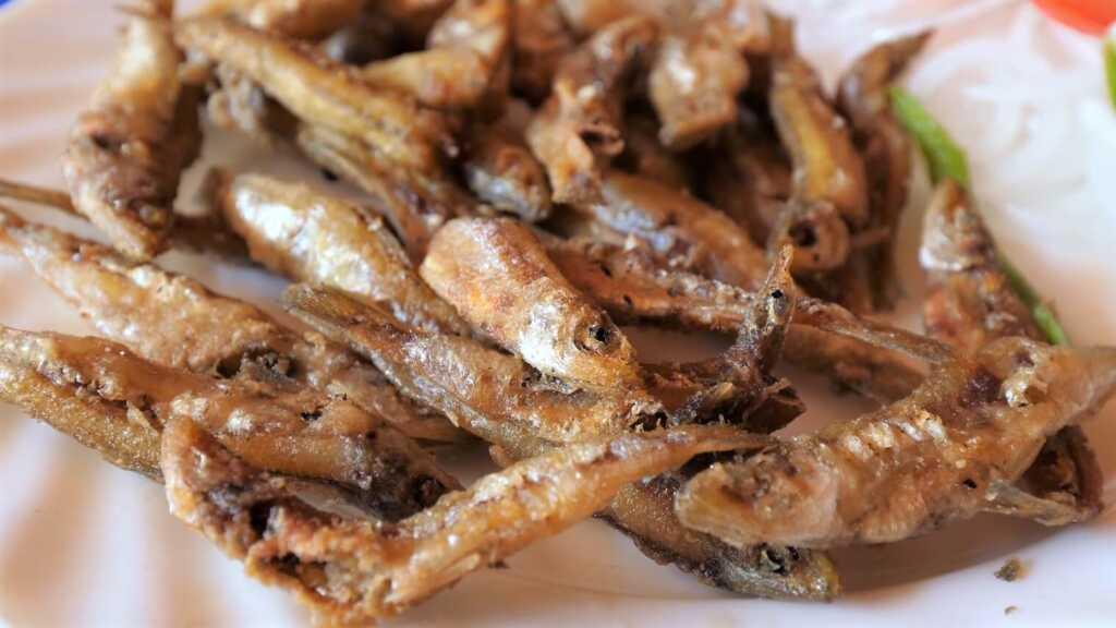 fried Sambaza small lake fish-food of Rwanda