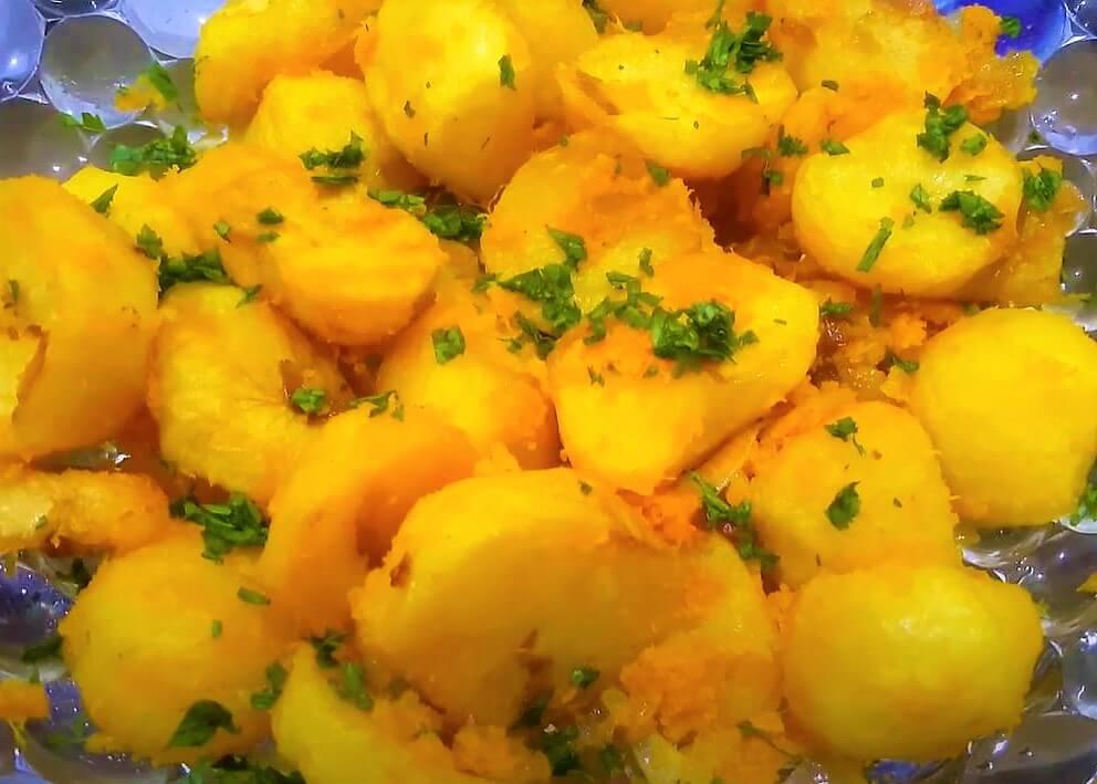 food in rwanda - Ibirayi (Rwandan version of French fries)