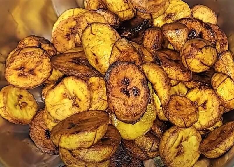Mizuzu (Deep- fried Plantains )food in rwanda